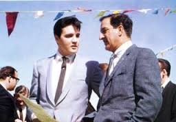 Elvis with Danny Thomas St. Jude color
