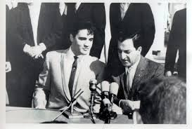 Elvis with Danny Thomas St Jude ship pressconference