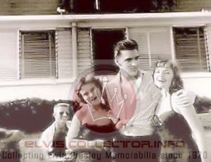 WM 1956 August 10 Elvis wit 2 females boy yare Audubon