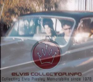 WM Elvis with Priscillla 1967 Elvis drivng his Rolls Royce rareraereare