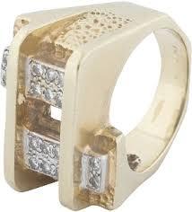 JEWERLY cats eye tourmaline and diamond ring Elvis gave Dr Nick