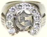 JEWERLY Circle G diamond ring