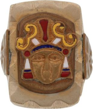 RING rare Indian Head ugly