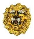 RARE Jewerly lion head golddiamonds