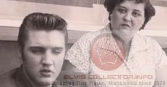 WM 1956 Elvis with Gladys E head shot Gladys torso up rarae