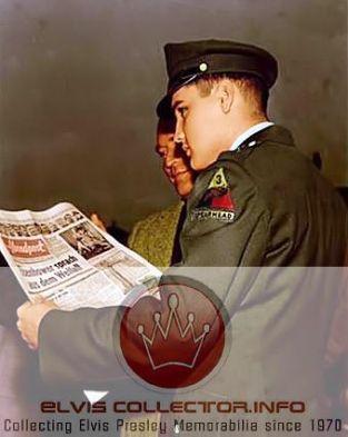 WM ARMY 1959 standing backside readinng newspapR