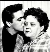 ARMY Induction Elvis kissing Gladys obvious crying BW