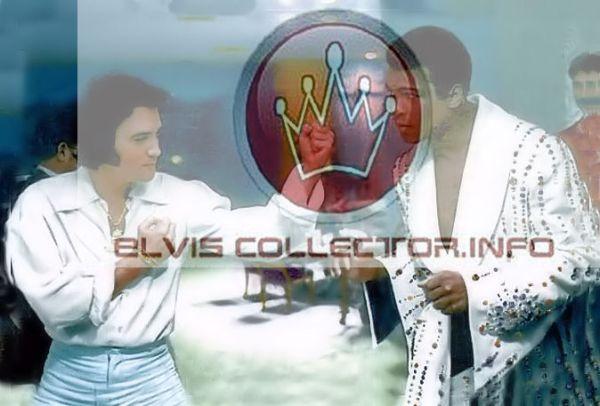 WM Elvis with Muhammad Ali BEST DETAIL