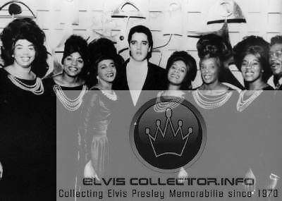 WM 1960s Elvis with Clara Ward sisters rare indeed 10