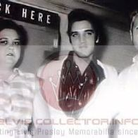 WM CHILDHOOD RARE Elvis standing with Gladys Vernon