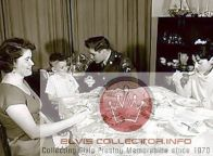 WM RARE Army at table with handicapped child