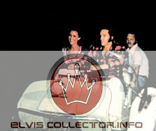 WM 1971 or 72 Elvis with LInda Billy Smith Graceland Golf cart